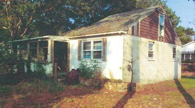 60 yr old house