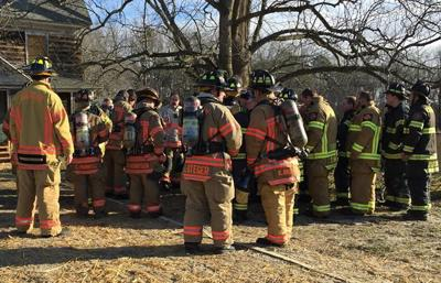 Fire departments prepare for real life emergencies