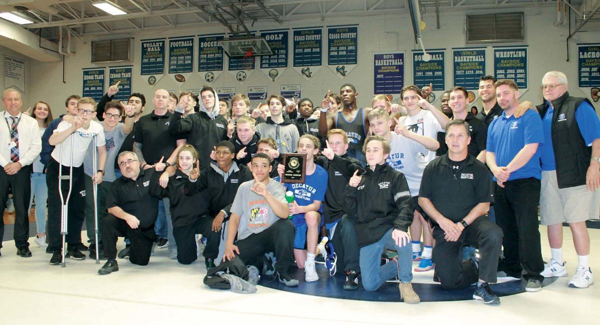 wrestling 3A East reg dual champs
