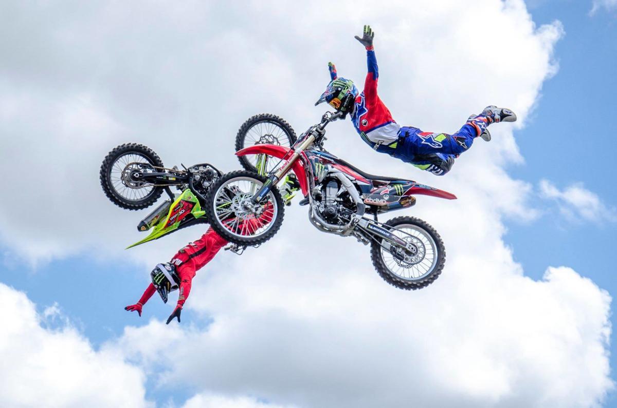 Monster Energy Freestyle Motocross