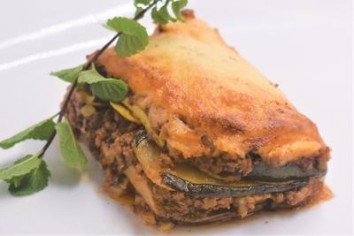 Greek lasagna Moussaka