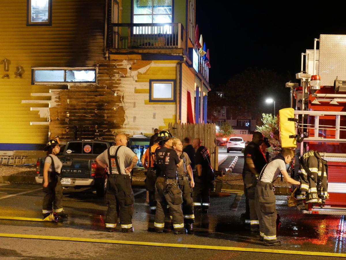 Bad Monkey West Ocean City Fire