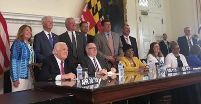 CC funding bill signing