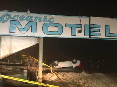 Drunk driver flips car near OC inlet, ignites social media
