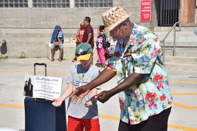 Market forces rule Boardwalk buskers
