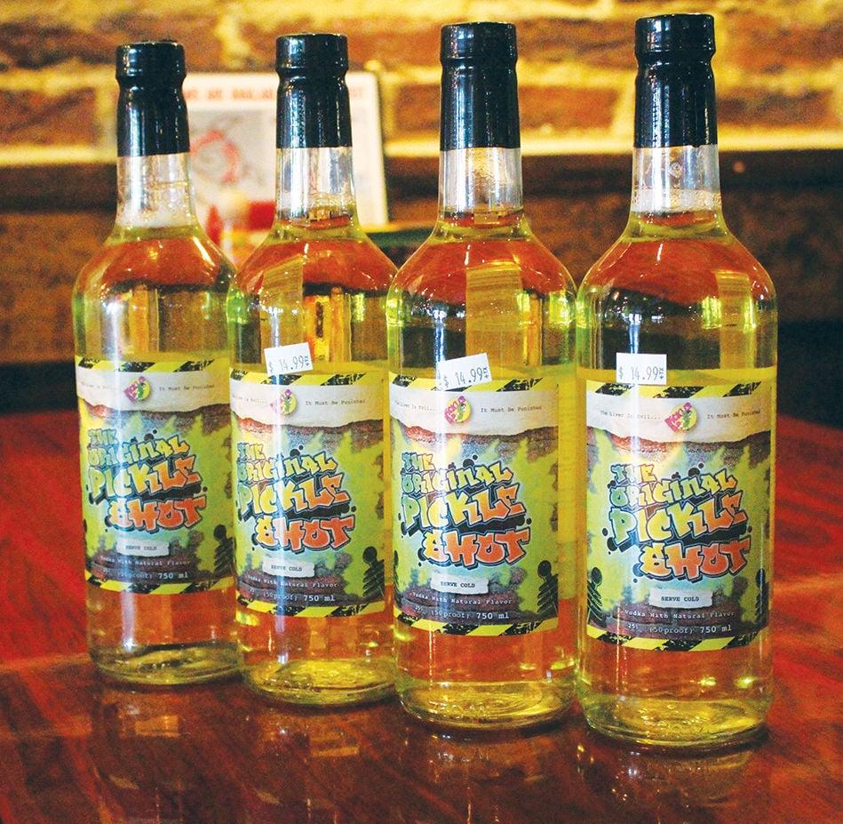 pickle shot bottle