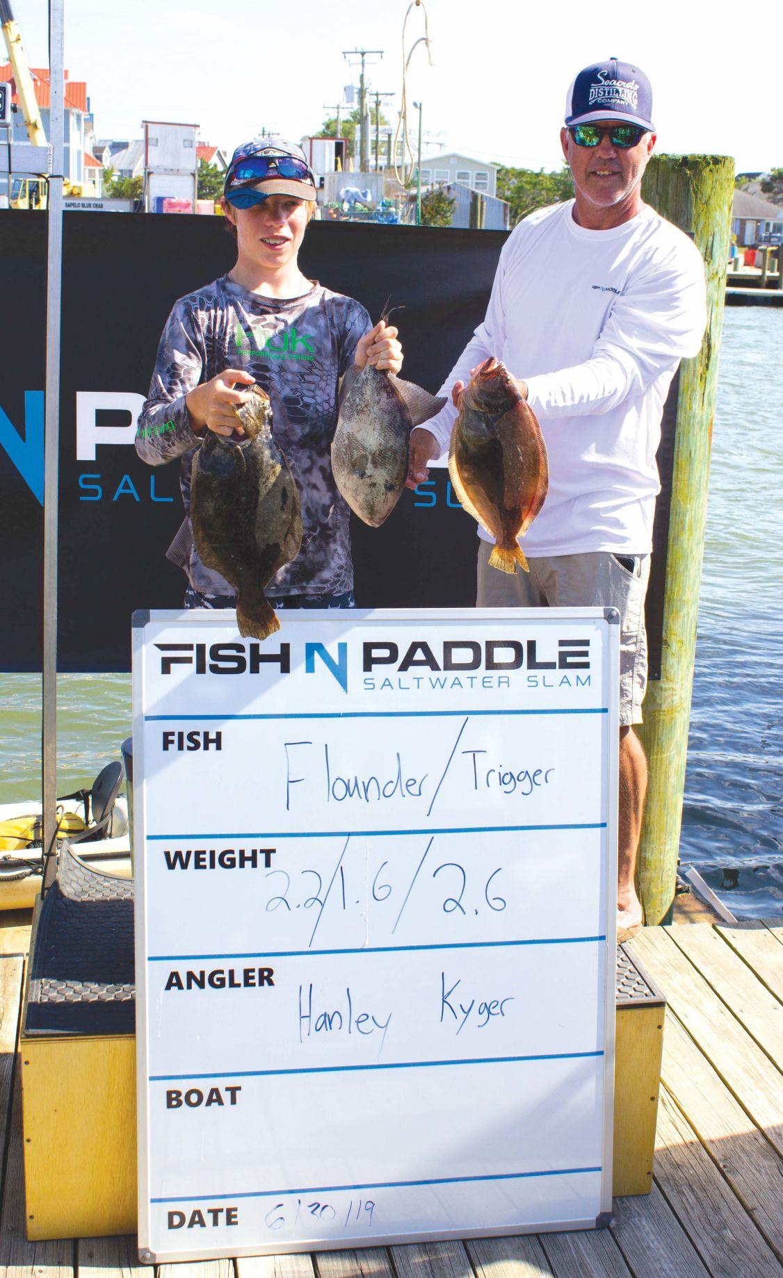 fish and paddle Hanley