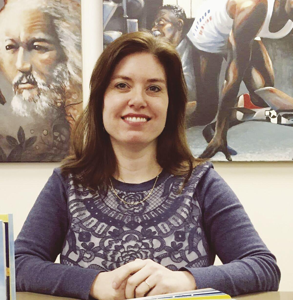 Worcester County Library Director Jennifer Ranck
