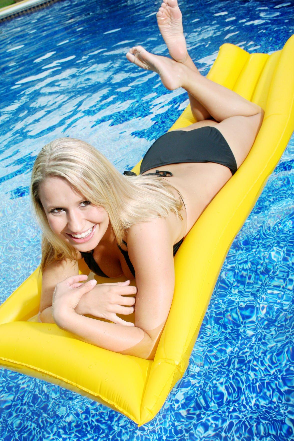 Female sunbather