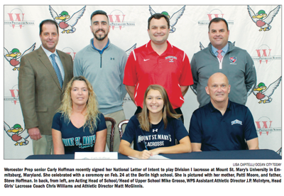 Carly Hoffman signs