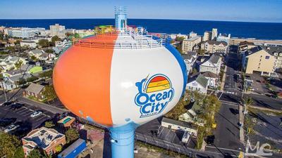 Beach ball tower