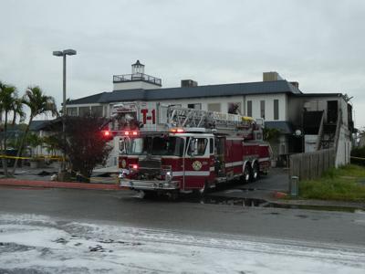 Fire at Mad Fish Bar & Grill