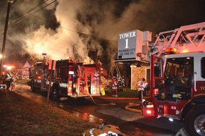 Homes burn in Pocomoke fires