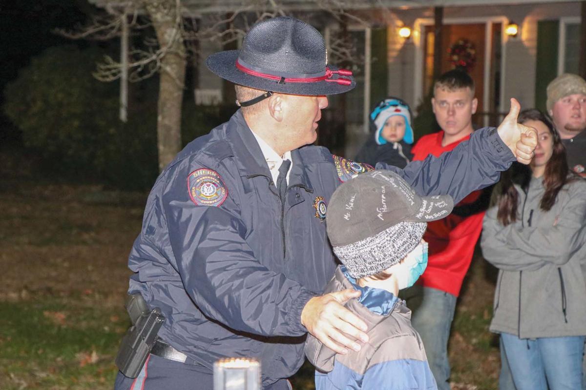 Sheriff Crisafulli and Newcomer