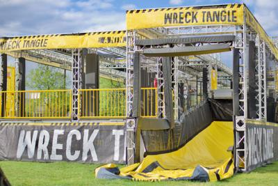 Opening set for WreckTangle obstacle course