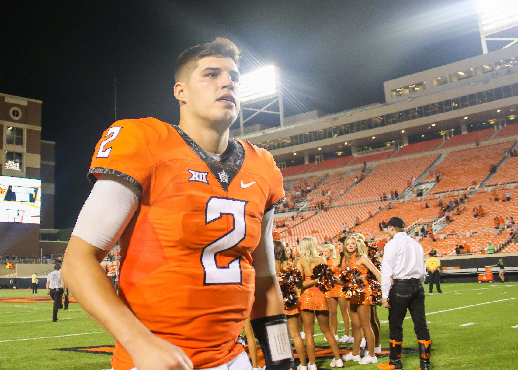 Mason Rudolph breaks Oklahoma State's career passing record