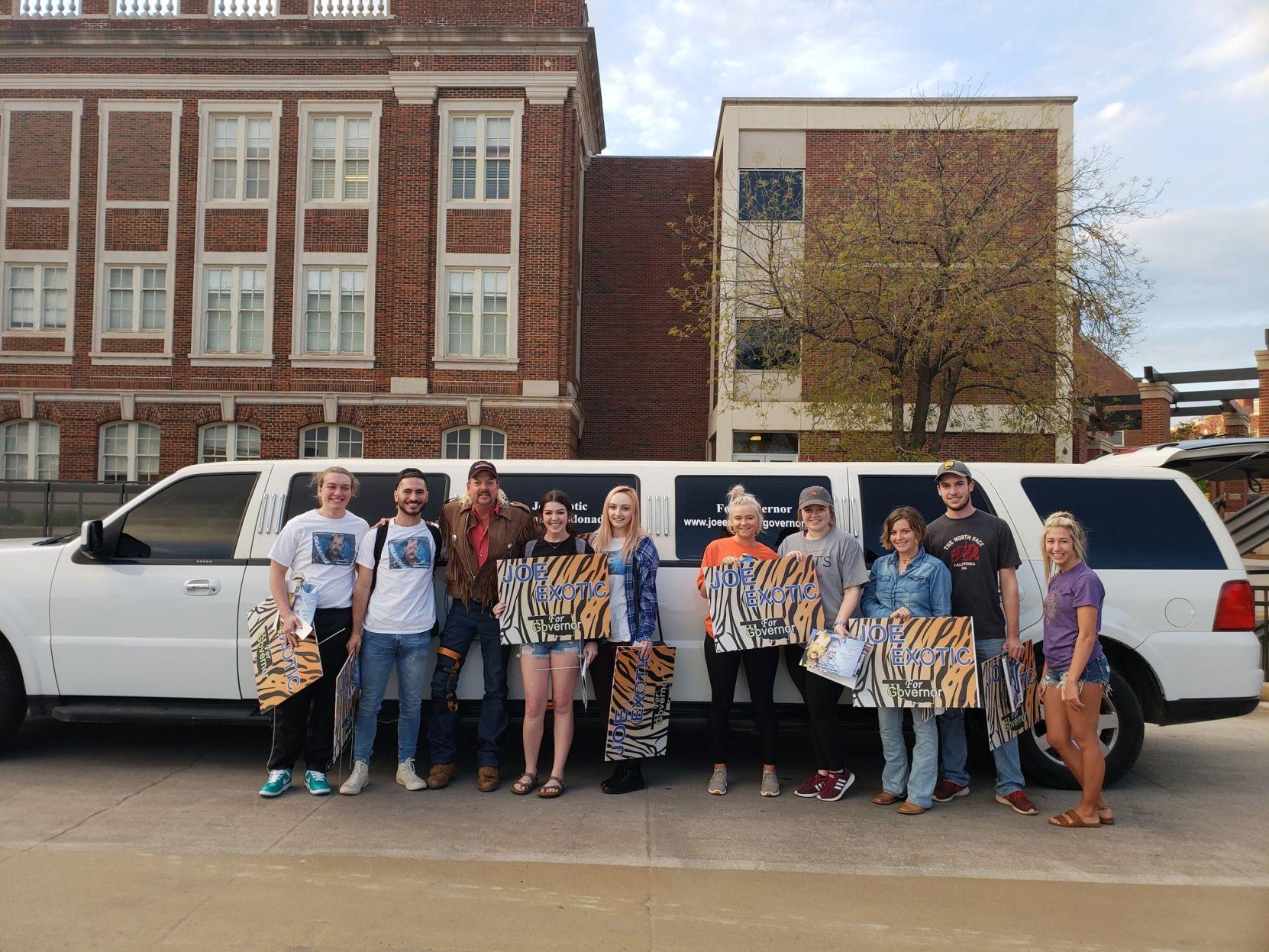 Oklahoma State University Mens Deluxe Polo Shirt