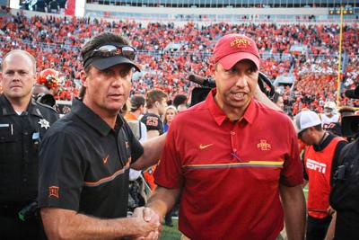 OSU vs. ISU Football: Mike Gundy