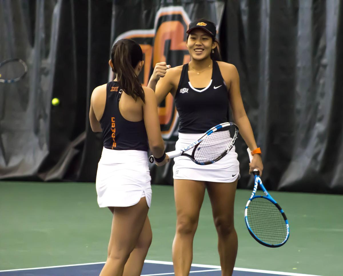 OSU Women's Tennis: Newcomers Arnold, Thamchaiwat building ...