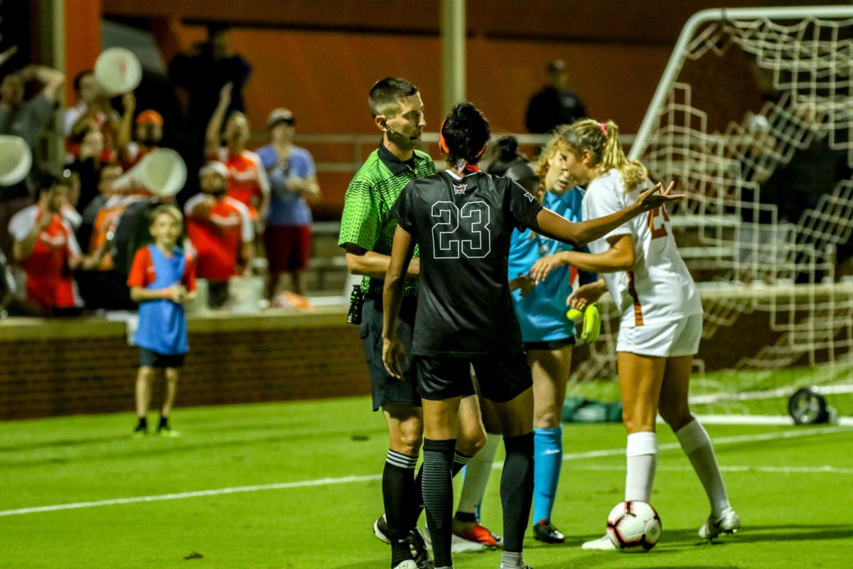 OSU Soccer vs. Texas