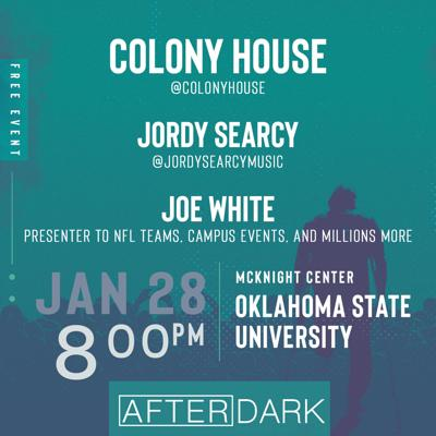 Jordy Searcy and Colony House