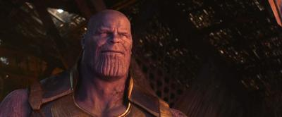 Thanos in 'Infinity War'