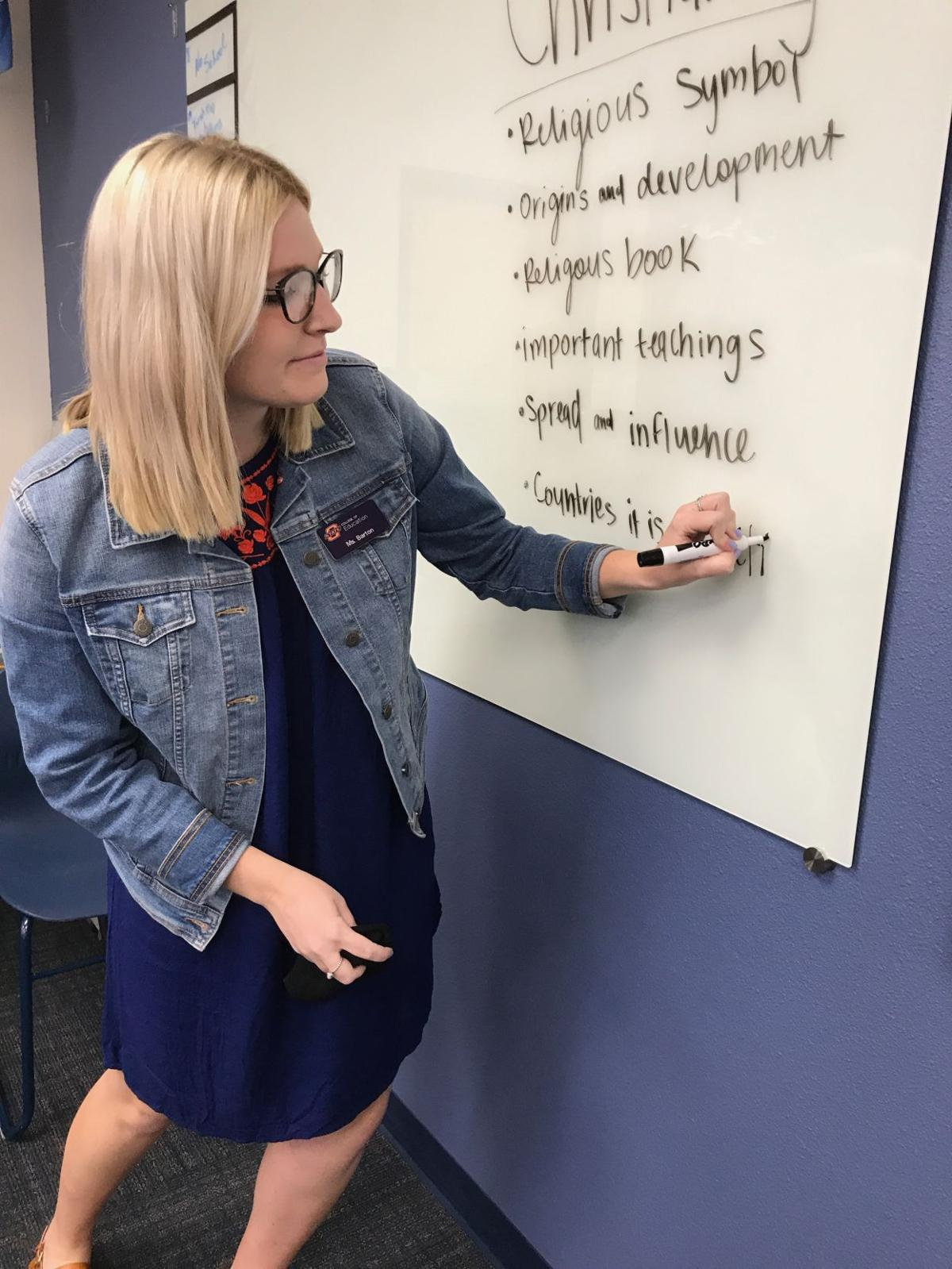 Despite Low Salaries Some Osu Students Staying To Teach In Oklahoma