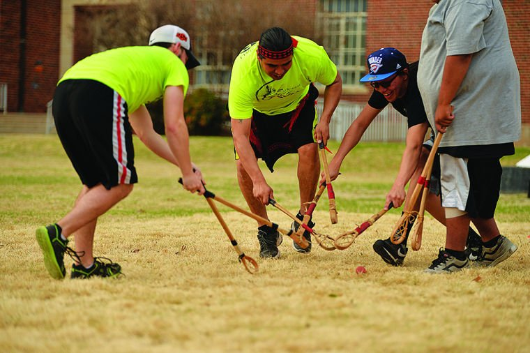 Native American Student Association Hosts Stickball Game
