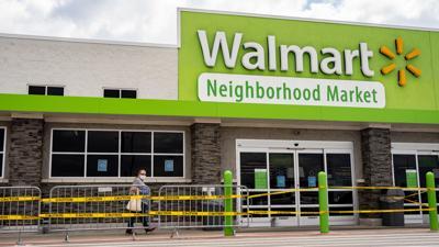 Businesses Cornavirus Walmart COVID masks social distancing