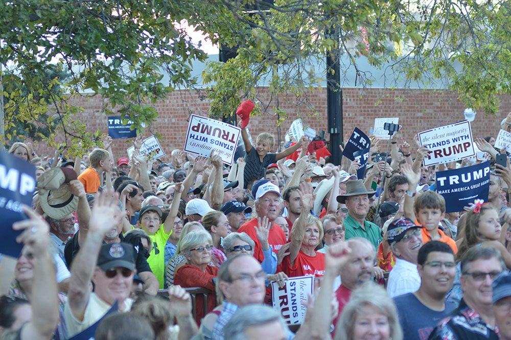 Donald Trump at the Oklahoma State Fair
