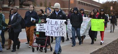 "Black Lives Matter protest: ""Shut it down"""
