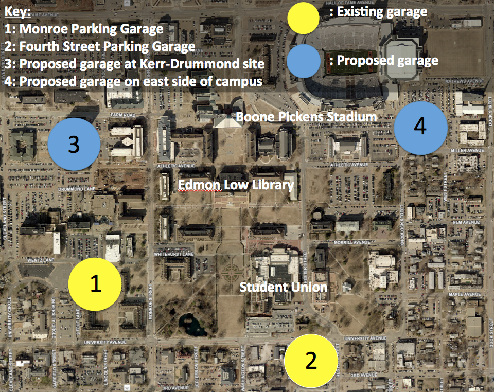 OSU devising a parking plan to finish in 14 years | News | ocolly.com