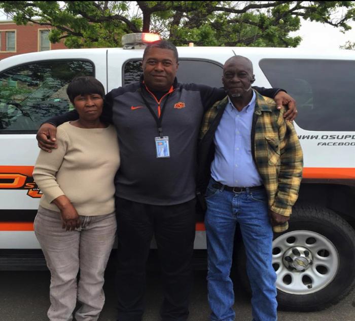 Parents of Leon Jones