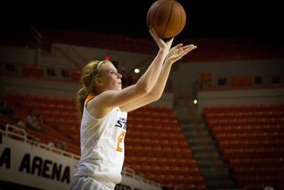 OSU Women's' basketball vs UC Riverside 12
