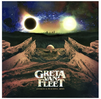 "Greta Van Fleet's ""Anthem of the Peaceful Army"""