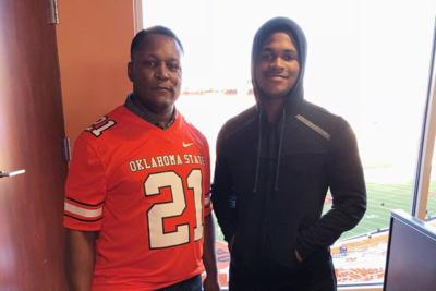 Deondrick Glass and Barry Sanders