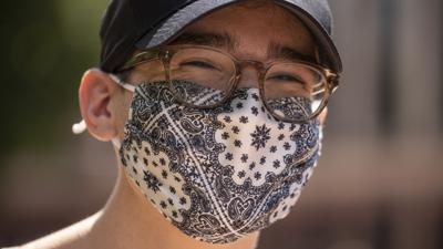 dude wearing mask