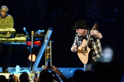 Garth Brooks performs in Tulsa