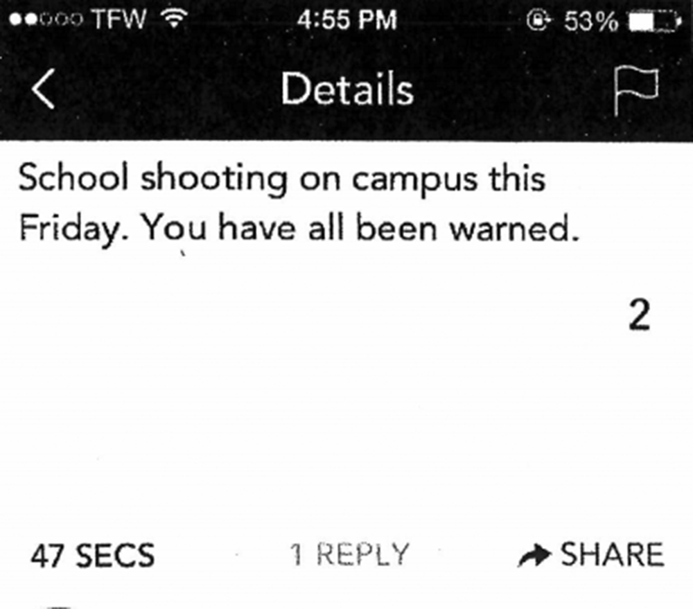 Yik Yak threat