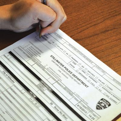 Stillwater Police Report