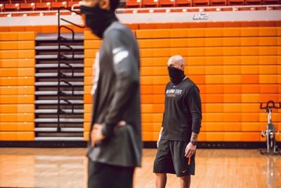 Cowboy Basketball First Official Practice
