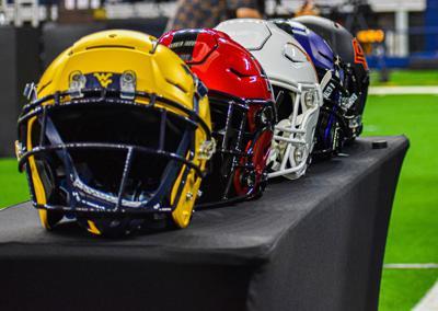 Big 12 helmets