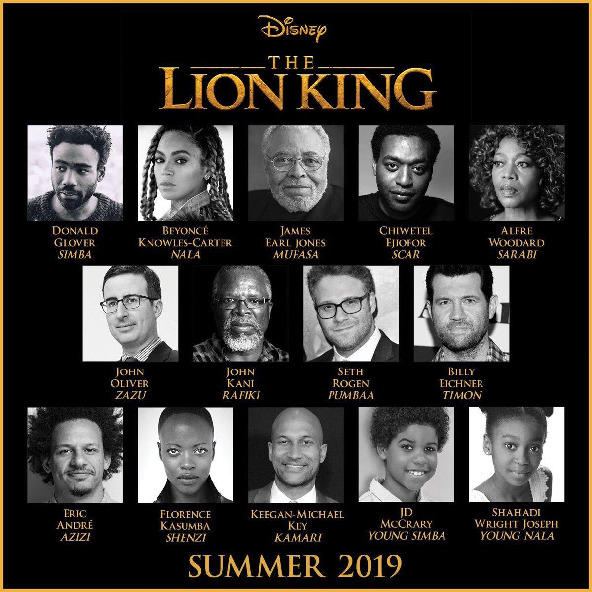 Image result for live action lion king cast
