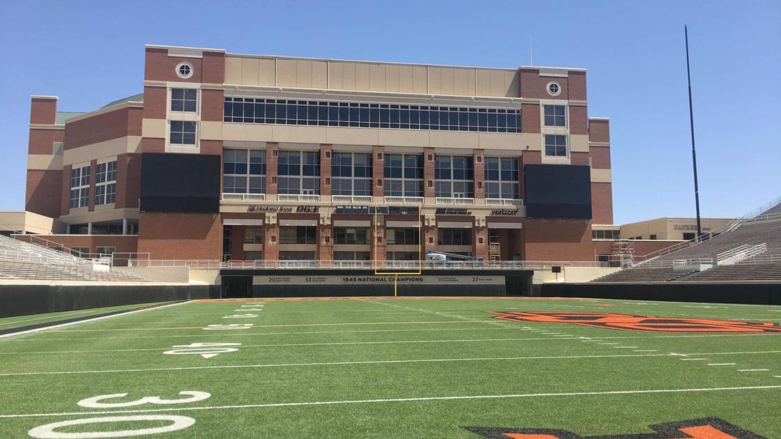 new video board in boone pickens stadium expected to be ready for 2018 season