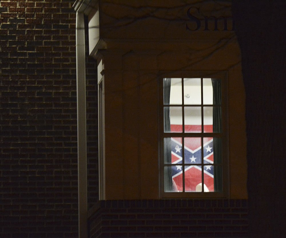 Confederate flag at SAE
