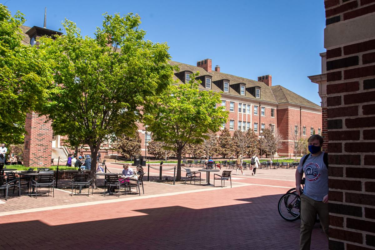 Students union campus plaza