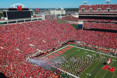 New screens at Nebraska's Memorial Stadium will help all in Sea of Red to see action; seat expansion also planned