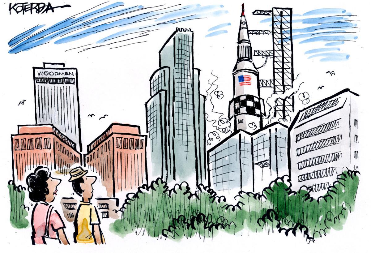 Koterba cartoon caption contest, May