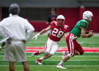 Who's No. 28? Husker walk-on Luke Reimer turning heads, vying for playing time at inside linebacker