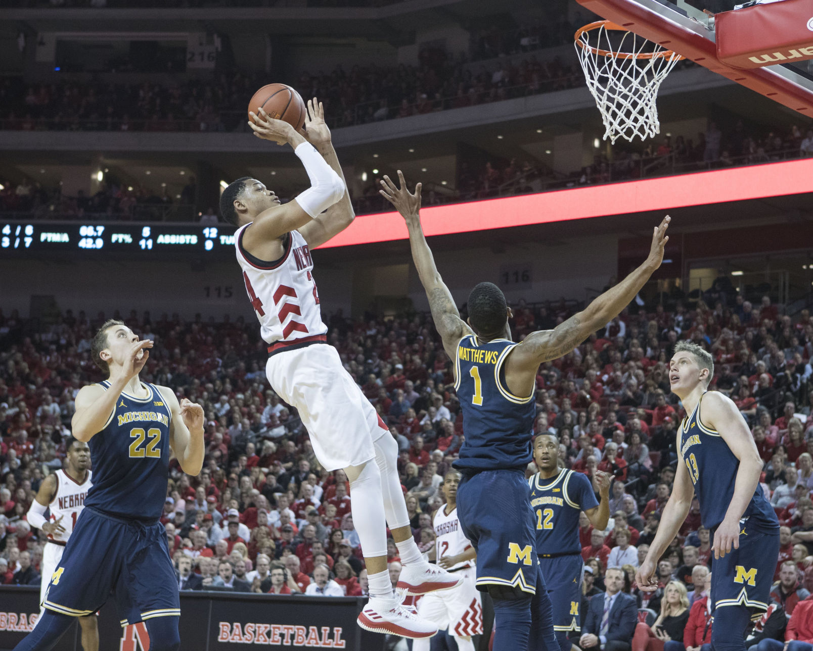 Big Data Resume%0A Tom u    s Take  Statement win against Michigan could help Nebraska basketball  punch ticket to Big Dance   Men u    s Basketball   omaha com